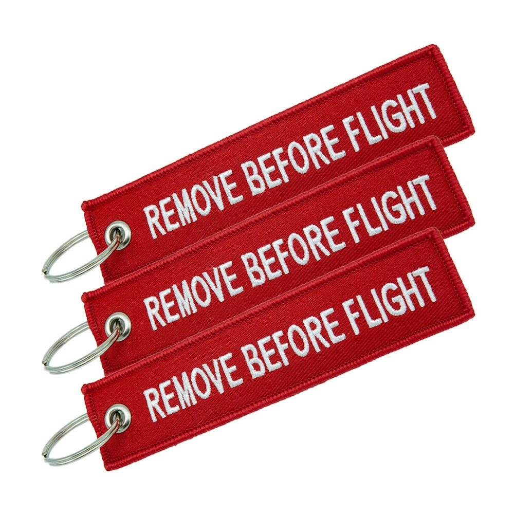 Remove Before Flight Tags