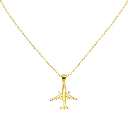 #AIRLINER COLLIER EN OR