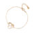 #WANDERLUST BRACELET EN OR ROSE