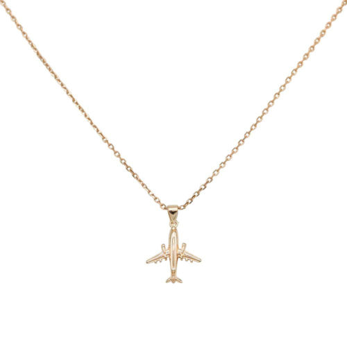 #JETLINER COLLIER EN OR