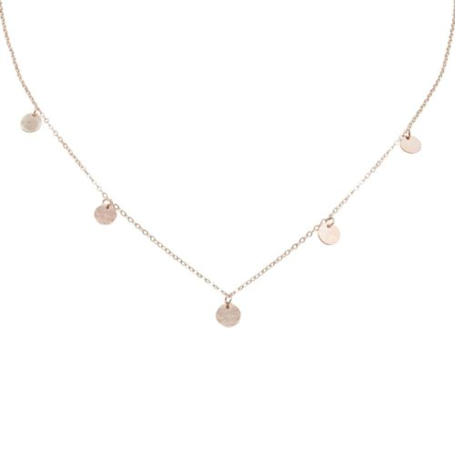 #BUCKETLIST COLLIER EN OR ROSE