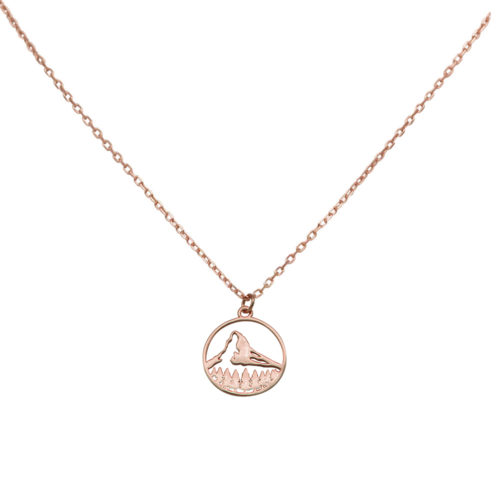 #MATTERHORN COLLIER EN OR ROSE